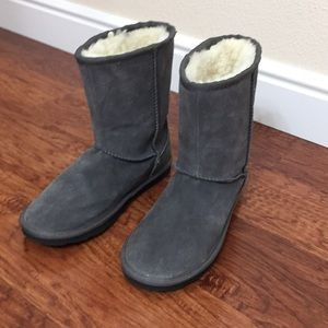 Sonoma Life + Style suede and fur lined boots